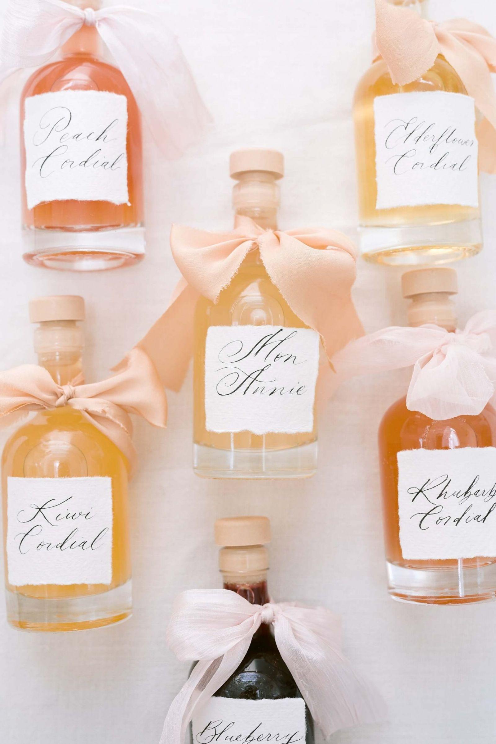 Luxury wedding favour ideas